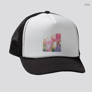 Beautiful Tulips Kids Trucker hat