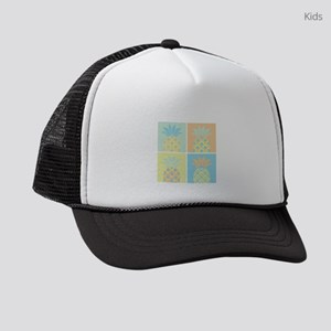 Pineapples Kids Trucker hat