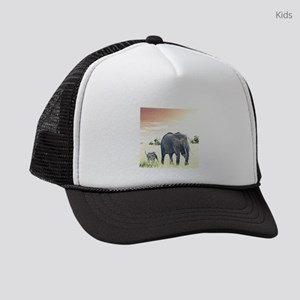 Elephants Kids Trucker hat