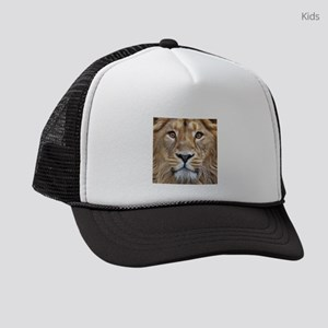 Realistic Lion Painting Kids Trucker hat