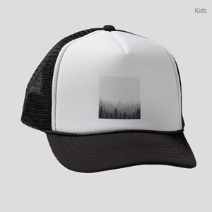 Gray Forest Kids Trucker hat