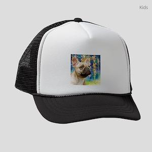 French Bulldog Painting Kids Trucker hat