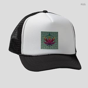 Marijuana Leaf Kids Trucker hat
