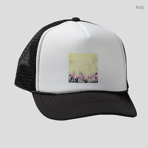 Beautiful Floral Kids Trucker hat