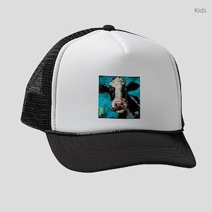 Cow Painting Kids Trucker hat
