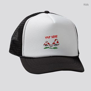 Shrooms Kids Trucker hat