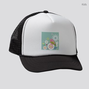 Colorful Bird Kids Trucker hat