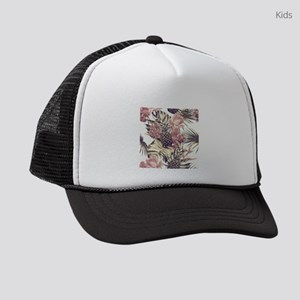 Tropical Pineapples Kids Trucker hat