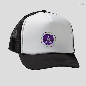 Personalized Name Monogram Gift Kids Trucker hat