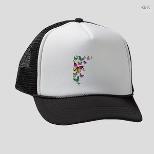 Colorful Butterfly Kids Trucker hat