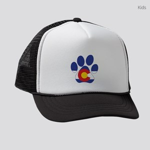 Colorado Paws Kids Trucker hat