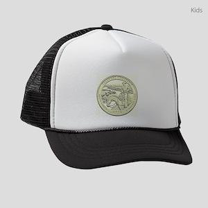 North Dakota Quarter 2016 Basic Kids Trucker hat