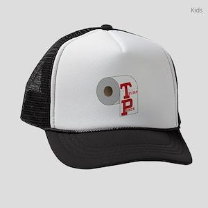 TP Toilet Paper Trump Pence Kids Trucker hat