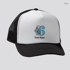 MLP Rainbow Dash 6th Birthday Kids Trucker hat