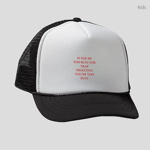 Trap shooting Kids Trucker hat