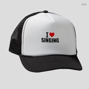 I Love Singing Kids Trucker hat