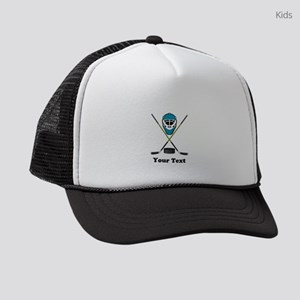 Hockey Goalie Personalized Kids Trucker hat
