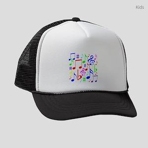 Note Rainbow Kids Trucker hat