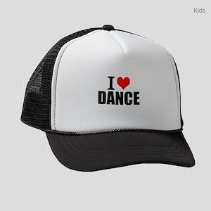 I Love Dance Kids Trucker hat