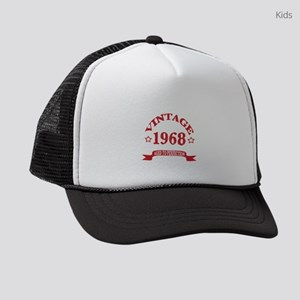 Vintage 1968 Aged To Perfectio Kids Trucker hat