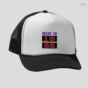 Made In 1968 Kids Trucker hat