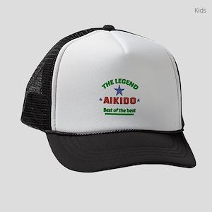 The Legend Aikido Martial Arts Kids Trucker hat
