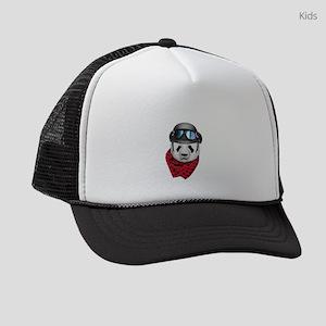 Panda Biker 2 L Kids Trucker hat