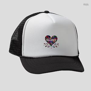 Ballroom Fun Heart Kids Trucker hat
