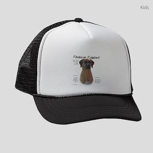 Rhodesian Ridgeback Kids Trucker hat