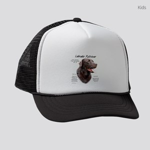 Chocolate Lab Kids Trucker hat