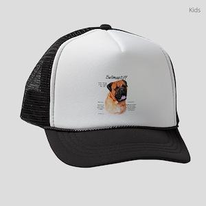 Bullmastiff (red) Kids Trucker hat
