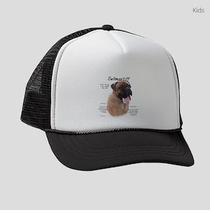 Bullmastiff (fawn) Kids Trucker hat