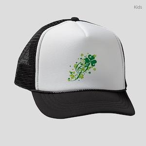 SHAMROCK-SWIRL Kids Trucker hat