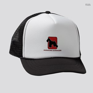5-redsilhouette Kids Trucker hat
