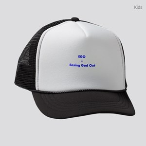 easing-god-out Kids Trucker hat