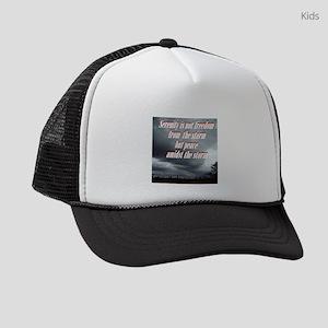 serenity-storm Kids Trucker hat