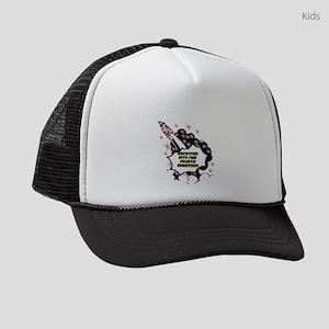 fourth-dimension Kids Trucker hat
