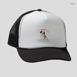 flowers Kids Trucker hat