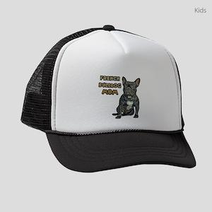 French Bulldog Mom Kids Trucker hat