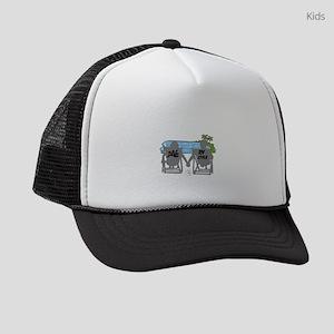LOVE RV STYLE Kids Trucker hat