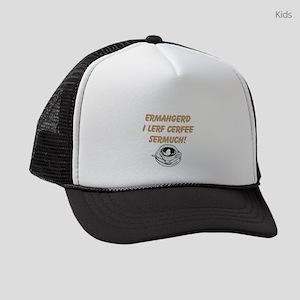 Coffee Love Kids Trucker hat