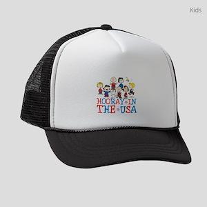 Hooray in the USA Kids Trucker hat
