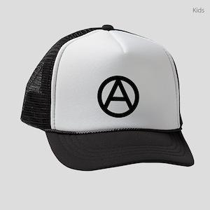 The Anarchy A Symbol | Anarchy An Kids Trucker hat