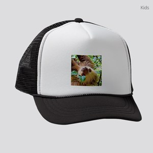awesome Sloth Kids Trucker hat
