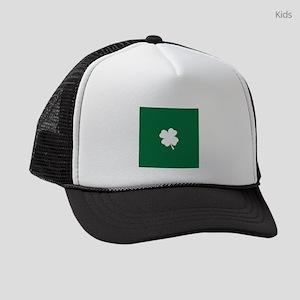 St Patricks Day Shamrock Kids Trucker hat