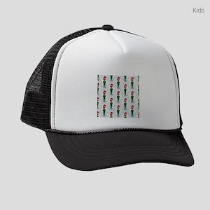 barack obama santa Kids Trucker hat