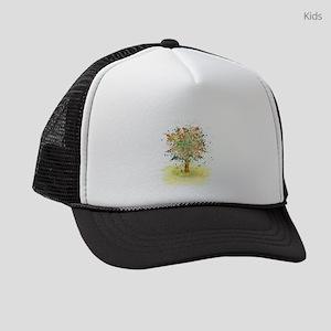 Landscape 466 Tree Kids Trucker hat