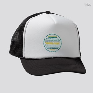 Golden Girls Quotes Kids Trucker hat