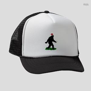 Christmas Squatchin Kids Trucker hat