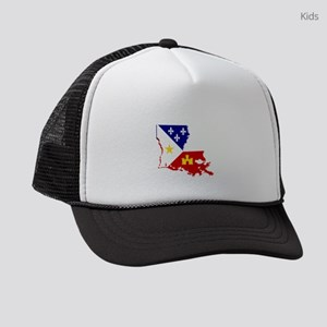 Acadiana State of Louisiana Kids Trucker hat